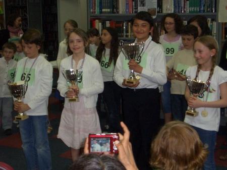 2009 Spelling Bee Winners pix by Howley, Paul CIMG2327