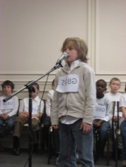 2011 Paris Spelling Bee Oral Finals, Sebastian Macintyre (tied for 3rd place) March 20, 2011